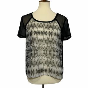 American Eagle Outfitters Semi-Sheer Top